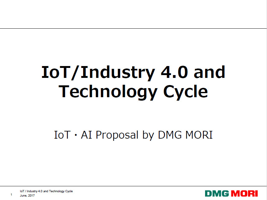 IoT/Industry 4.0 and Technology Cycle