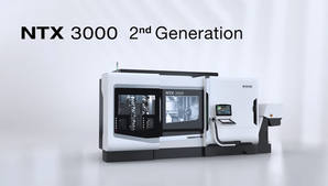 The latest Integrated Mill Turn Centers「NTX 3000 2nd Generation」
