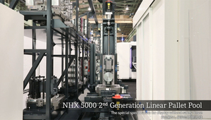 NHX 5000 2nd Generation 「Linear Pallet Pool System」