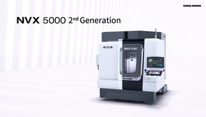 Vertical Machining Center「NVX 5000 2nd Generation」