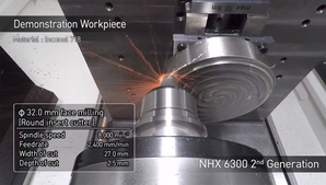 NHX 6300 2nd Generation「Demonstration workpiece」