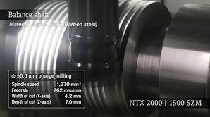 NTX 2000 | 1500 SZM  BalanceShaft