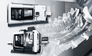 5-axis control machining/process integration